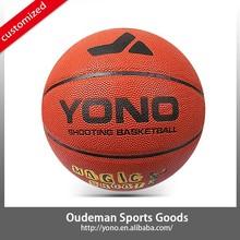 Branded YONO YN-008-3 size 7# 5# 3# basketball laminated PU basketball accessories sale