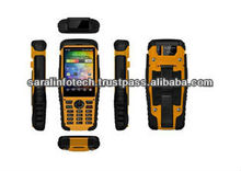 """3.5"""" 1Ghz Dual Core Industrial rugged Android handheld with Symbol 1D Barcode scanner, RFID"""