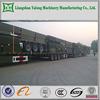 tri-axle cargo semi trailer side wall cargo semi trailer drop side insulated cargo trailer with FUWA axle