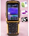 Computadora de mano ts-901 androide pda pos del escáner de código de barras/rfid wifi 3g