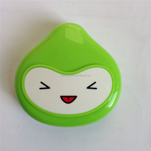 wholesale popular snow frog contact lens case