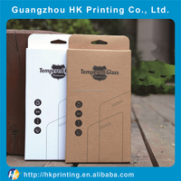 disposable custom iphone 6 tempered glass screen protector paper box