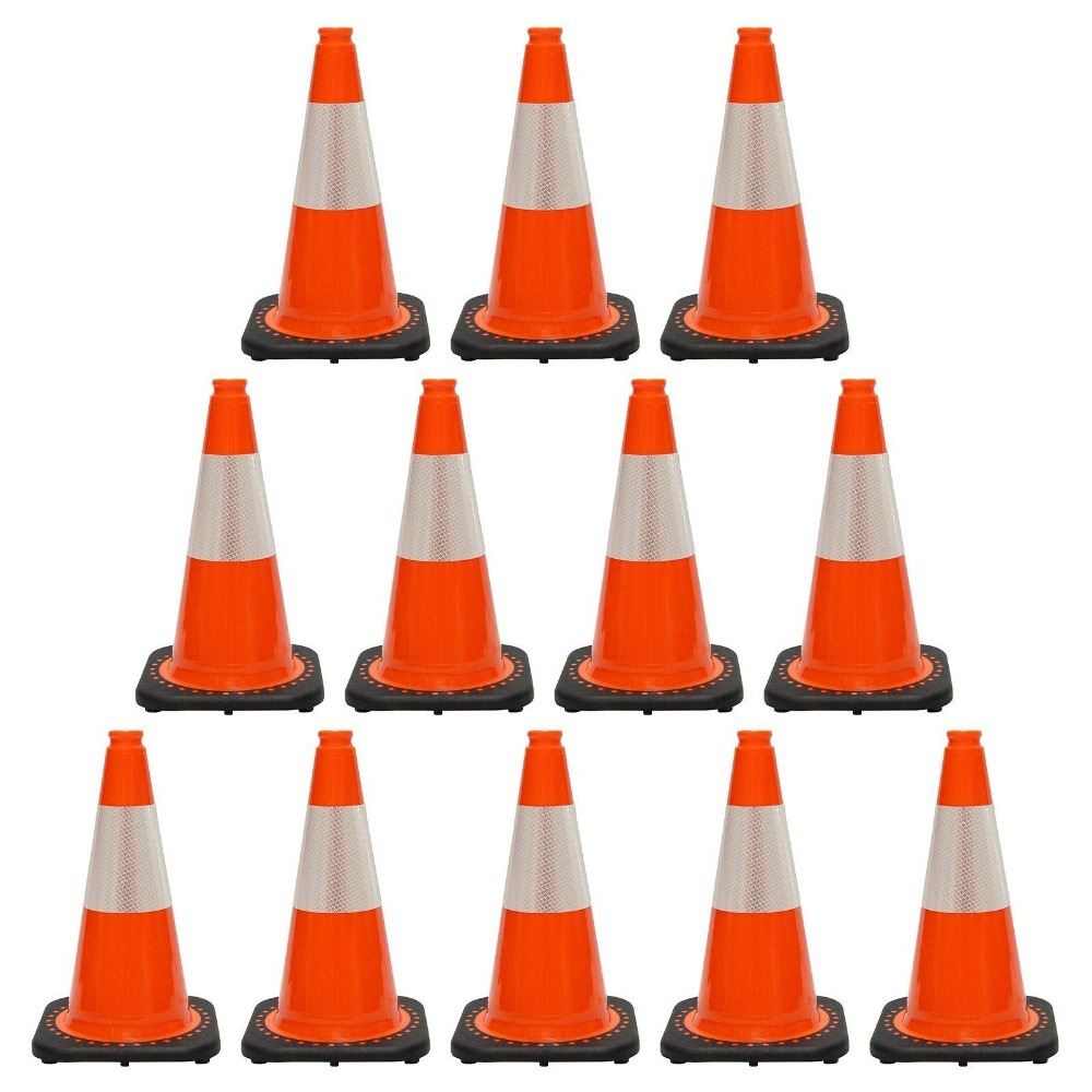 Orange Green Blue Black Colored Traffic Cones/traffic ...