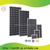 competitive price high effective 75w solar panel with CE and ROHS