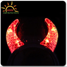 Led flashing cow horns glow devil horns cow horns for sale