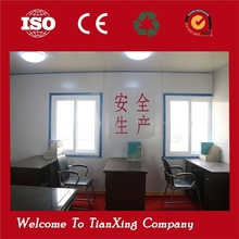 Easy And Quick Assembly Recyclable china prefabricated homes modified mobile container office