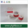 High end chinese manufacturer jewelry boxes china wholesale clear top jewelry box