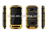 Cheapest factory 4 inch MT6572 military cell phone with Android 4.2 IP67 and 3G