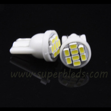 Factory selling T10 W5W 194 501 8 3020 SMD t10 led light car interior lamp bulb