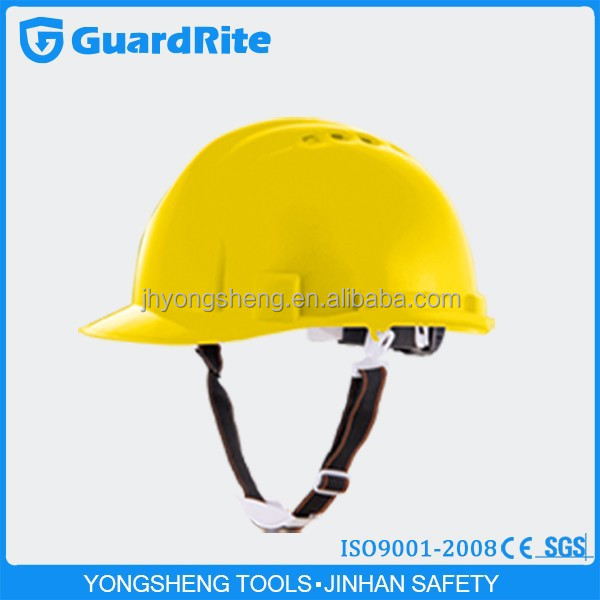 Guardrite brand High Quality EN397 ABS Construction Safety Helmet with CE approved