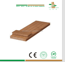 China export durable crack resistant wpc outdoor deck flooring
