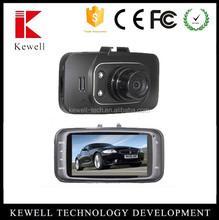 Multi-languages optional car dvr high quality dual car camera motion sensor car security camera dvr
