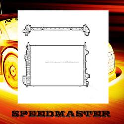custom all aluminum racing car radiator for SAAB 9-3