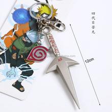 3 Styles Naruto Anime Keychain