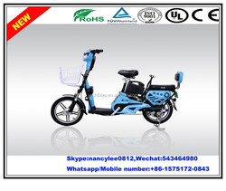Chinese wholesale brushless motor nad 350W wattage battery with pedals for electric bicycle/e-bike CE approval made in China