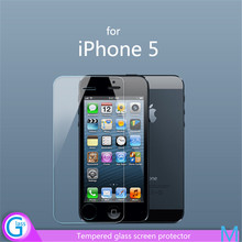 Anti Fingerprint Mobile Phone Glass Cover for iPhone 5
