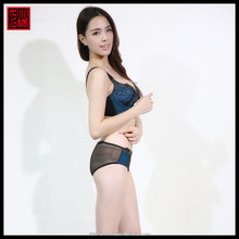Newest design 3/4 cup top quality beautiful sexy ladies bra panty model