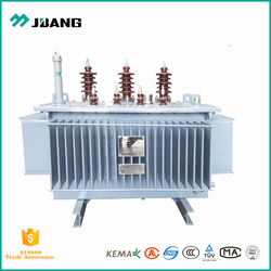 Ultra low power loss amorphous metal core oil insulating 50kva electrical transformer