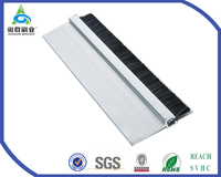 SVHC approved AOQUN aluminum door seals strip use for Shower door bottom