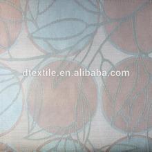 100% de poliéster, 280cm ancho, gran círculo& patten diseño, chenille tela de la cortina