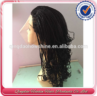 China Best Natural Kinky Twist Human Hair Full Lace Wig