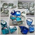 de vidrio de color piedra