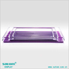 Factory direct price neon acrylic tray clear acrylic tray with insert display trays factory in china