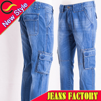 ripped blue brand jeans trousers wholesale