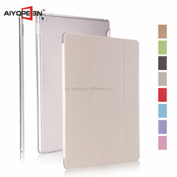 Hot sales Luxury Silk Pattern connection case for iPad Pro 12.9 inch Auto Sleep & Wake up