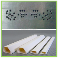 Plastic cable slot profile extrusion toolings extrusion dies