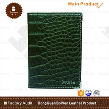 Alibaba factory leather passport cover wholesale for travel