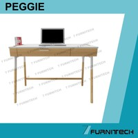 Modern office desk UK style for laptop and PC