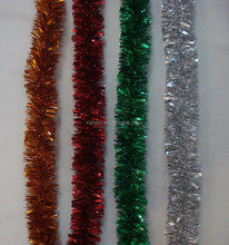 high quality shiny christmas tinsel garland trend hang christmas tree garland