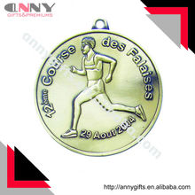 Des Falaises Antique Running Medal