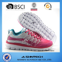 2015 light weight women sport running shoes