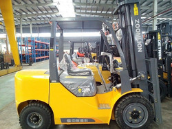3.5 ton forklift truck with 3 stage diesel forklift price