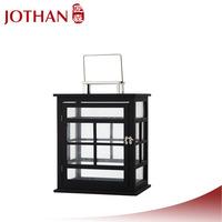 metal tree table decoration wooden lantern