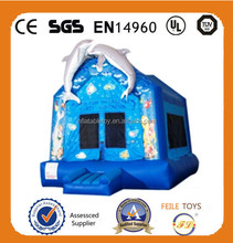 FL design warm and cute jumping inflatable house for sales