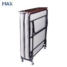 Guangzhou Hotel Extra Folding Bed,10cm sponge Rollaway Beds for Hotels
