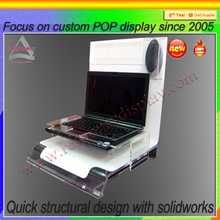 market pop audio display holder hot style counter sounds display showcase