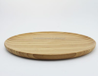 disposable kitchen bamboo serving plate