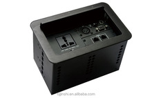 Cable Tabletop Connection Box With HDMI USB Network