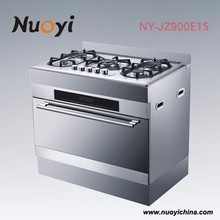 36 inch electric range stainless