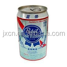 empty customer aluminium beer / beverage cans 250ML