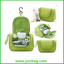 Custom Hanging Toiletries Bag Polyester Toiletry Bag