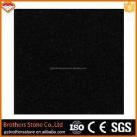 Quarry stone Chinese pure black stone China polished black granite