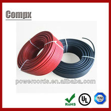 solar cable ul solar pv cable 4mm electrical wire