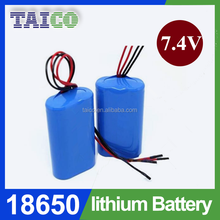 Underwater light 18650 2500mah li-ion battery 7.4v with Great performance