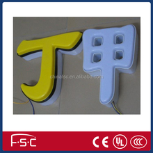 Led letter sign blister frontlit led letters led channel