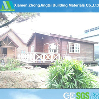 Steady low cost villa 50mm eps wall sandwich panel timber houses